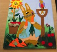 Peter Rabbit Collage