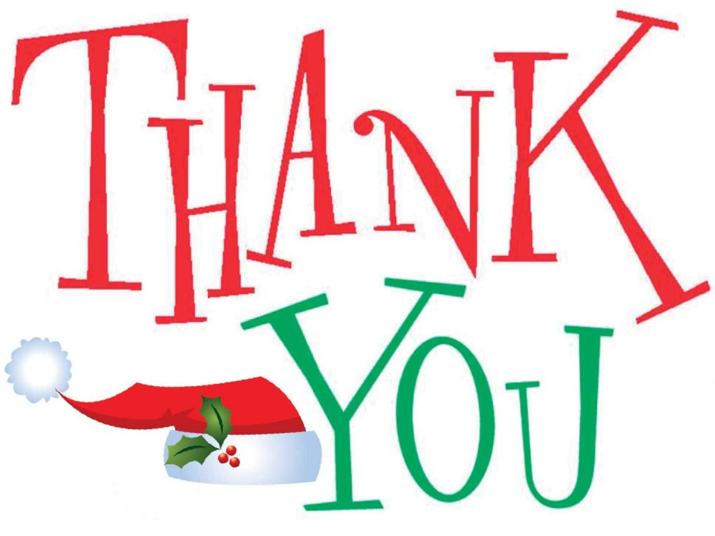 Christmas Thank You Clip Art Free Clipart Images 2 Jigsaw