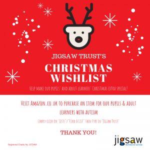 Jigsaw Trust Christmas Amazon Wishlist